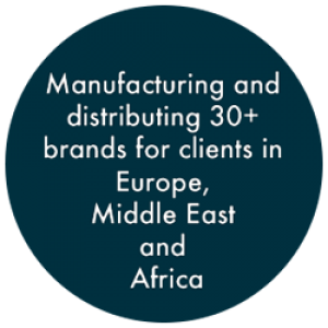 manufacturing 30 international brands